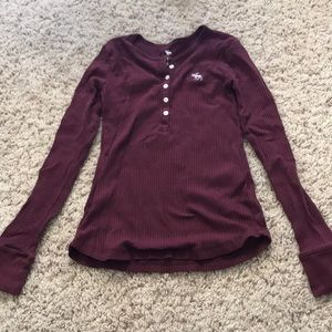 Other - Burgundy long sleeve